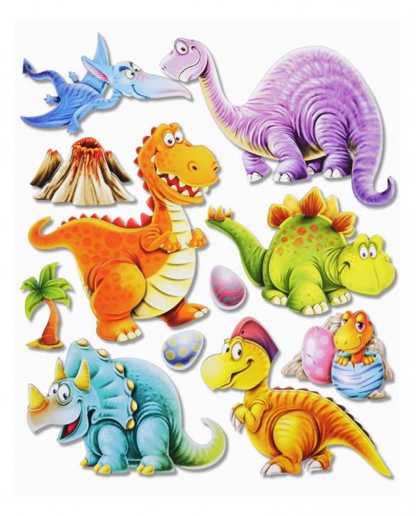 3D Sticker XXL Dinos