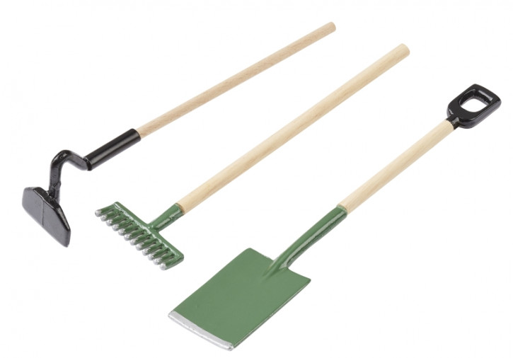 Gartenwerkzeug-Set ca. 9 cm, Btl. 3 Stück