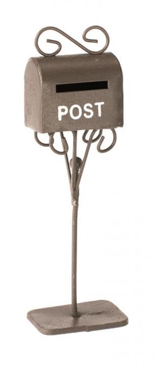 Mini-Briefkasten, rost, 3 x 2 x 11 cm
