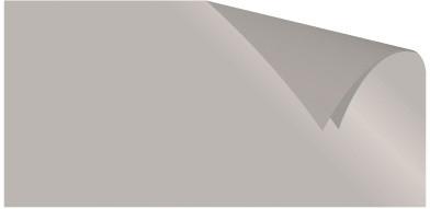 Alu-Doppelfolie silber / silber 50 X 78 cm