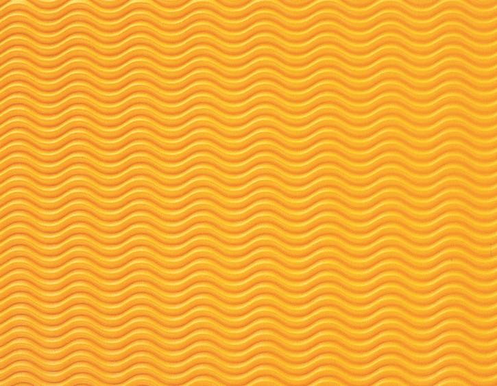 Wellpappe W-Welle 50 X 70 cm gelb