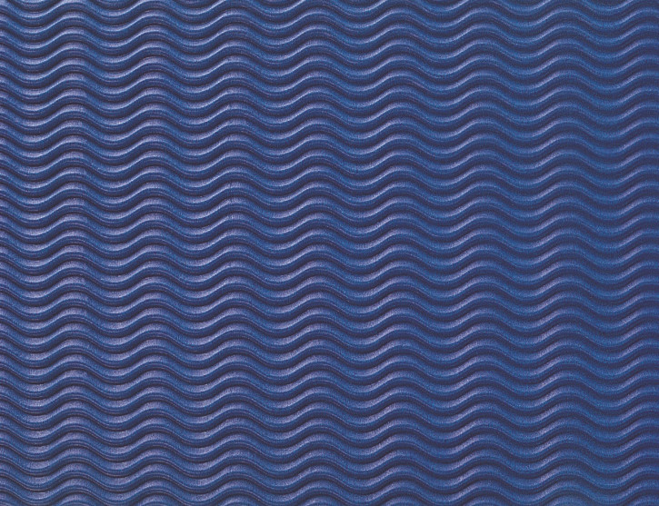 Wellpappe W-Welle 50 X 70 cm blau