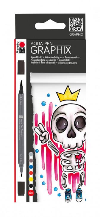 Aqua Pen GRAPHIX 6Stifte