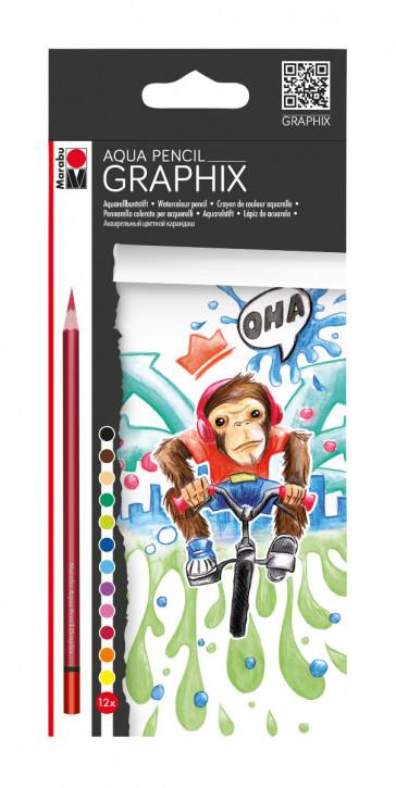 Aqua Pencil GRAPHIX 12Stifte