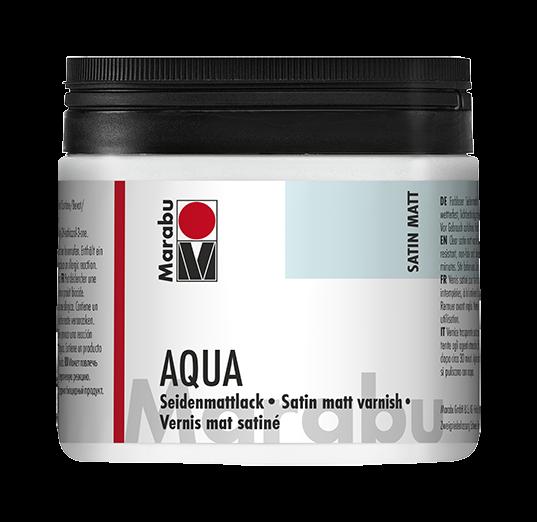 AQUA Seidenmattlack 500ml