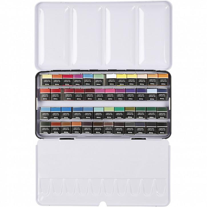 Art Aqua Aquarellkastel, 48 Farben