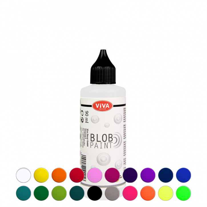 Blob Paint 90 ml, 20 Farben