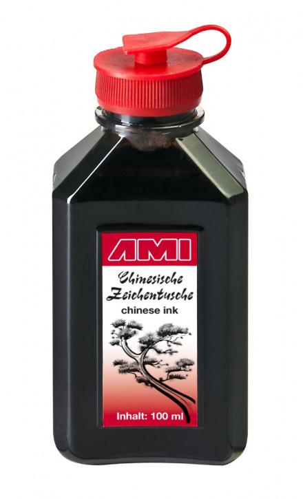 China Tusche 100 ml, Kunststoffflasche