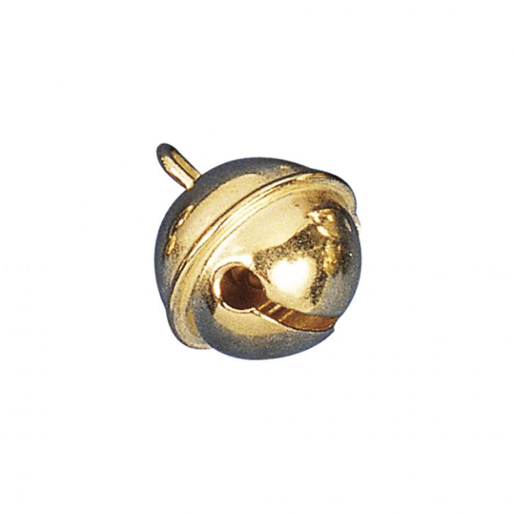 Deko-Metallglöckchen kugelförmig 19 mm