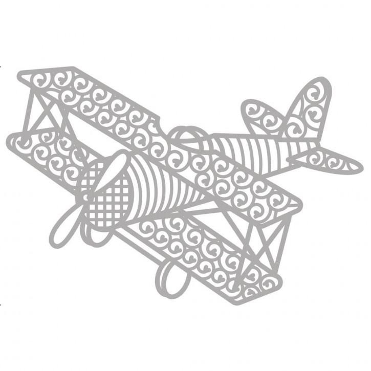 Delicate Die- Aeroplane 11,3x7,5cm, SB-Etui 1Stück
