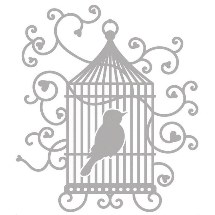 Delicate Die- Birdcage 10,4x11,8cm, SB-Etui 1Stück