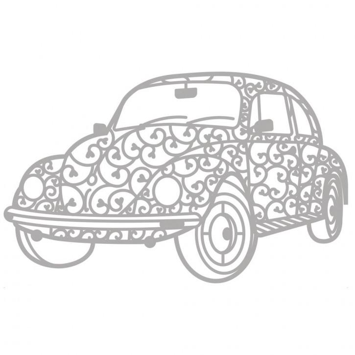Delicate Die- Vintage Car 11,7x7,2cm, SB-Etui 1Stück