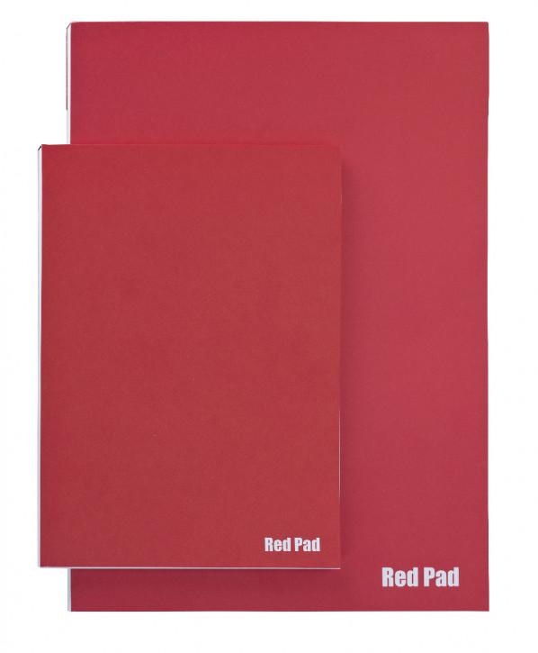Der Rote Block 120 g, DIN A5, 50Bl.