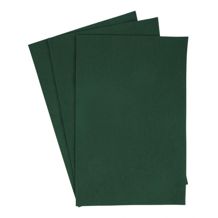 Filzzuschnitte 20x30 cm, 0,8-1 mm Grün