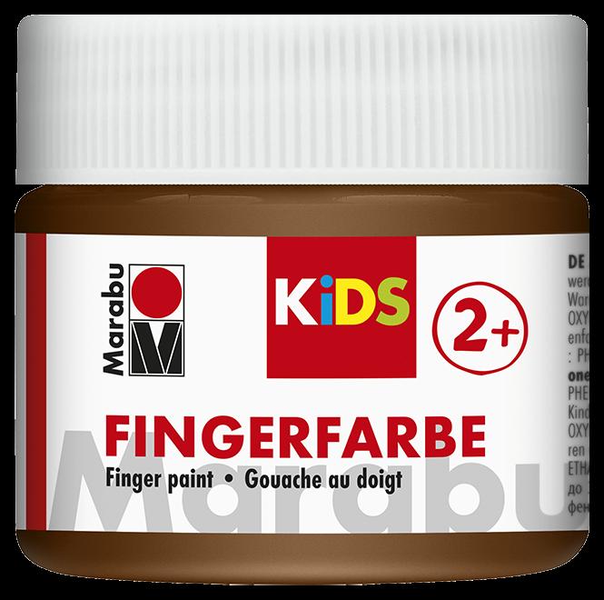 Fingerfarbe Braun Dose 100ml