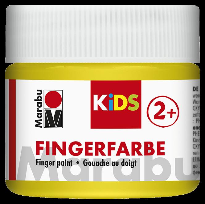 Fingerfarbe Gelb Dose 100ml