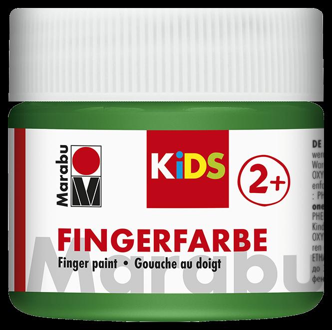 Fingerfarbe Grün Dose 100ml
