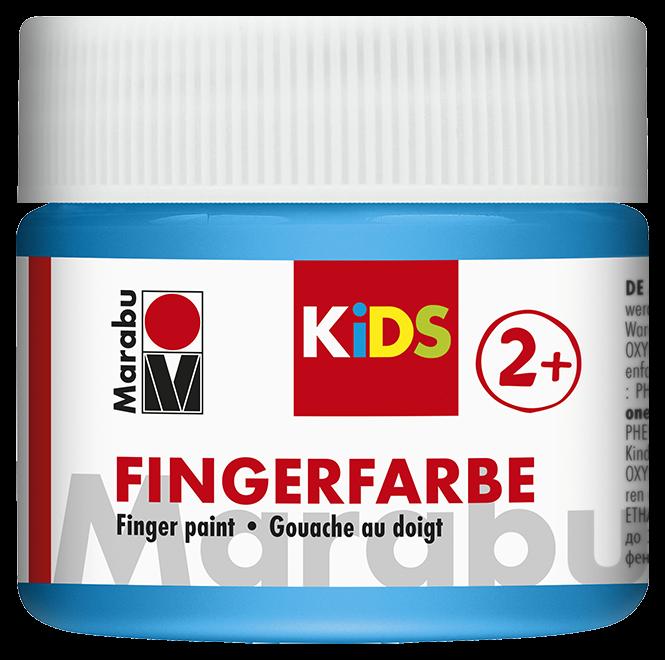 Fingerfarbe Hellblau Dose 100ml