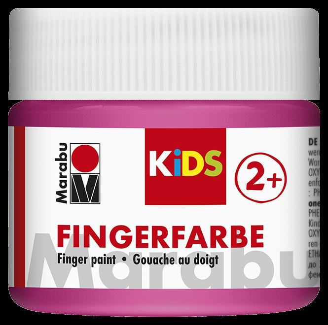 Fingerfarbe Pink Dose 100ml