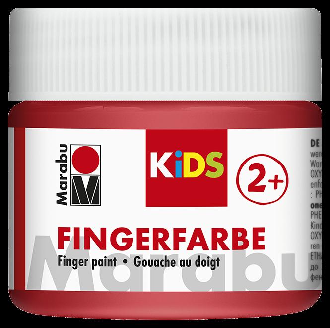 Fingerfarbe Rot Dose 100ml