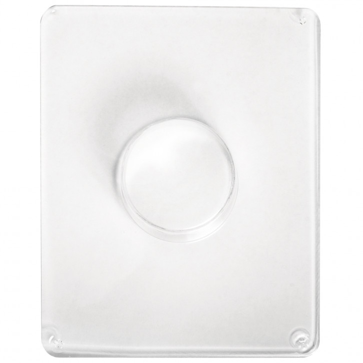 Gießform: Kreis, 4,5cm ø Tiefe 3,5 cm