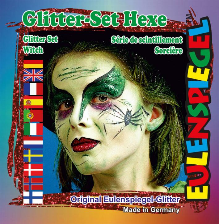 Glitzer-Set Hexe
