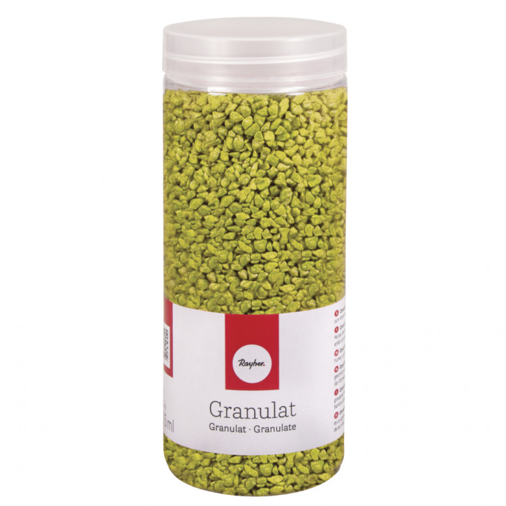 Granulat, maigrün 2-3mm, Dose 475ml