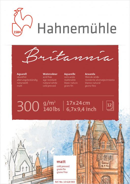 Hahnemühle Britannia Matt 17X24 cm, 300g m²