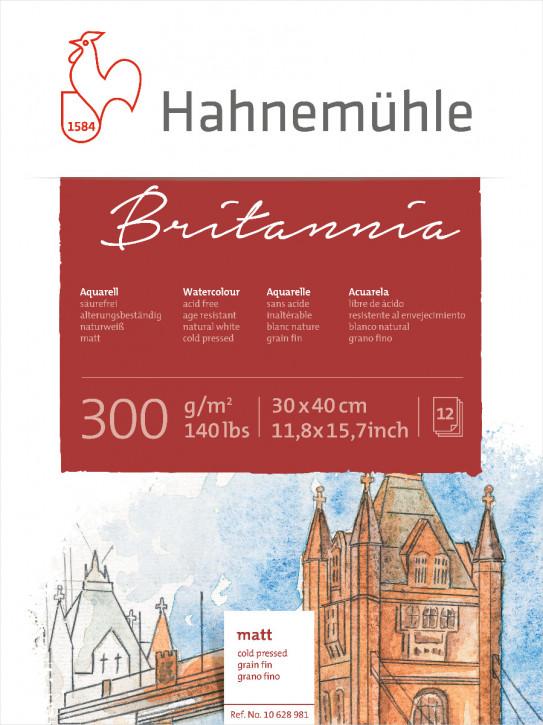 Hahnemühle Britannia Matt 30x40 cm, 300g m²
