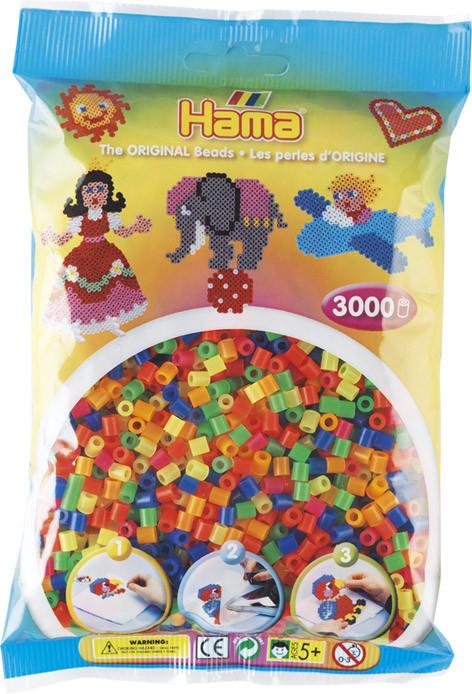 Hama Bügelperlen Transparent 3000Stück