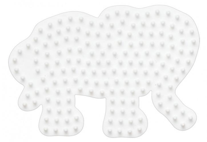 Hama Steckplatte Elefant klein