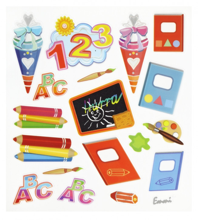 Hobby-Design Sticker Schule