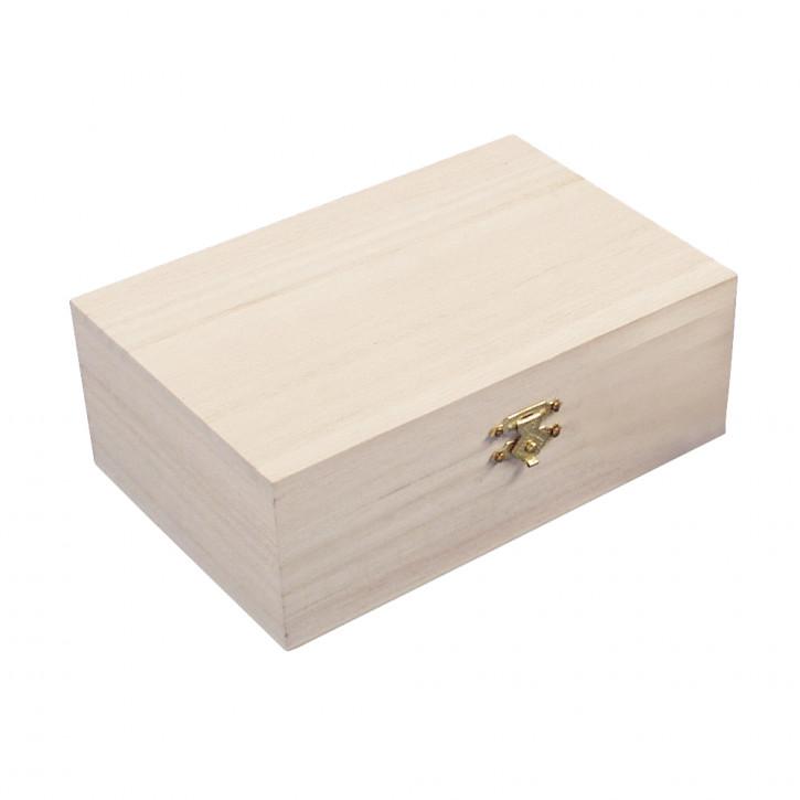 Holz Schatulle 15x10x5,5cm
