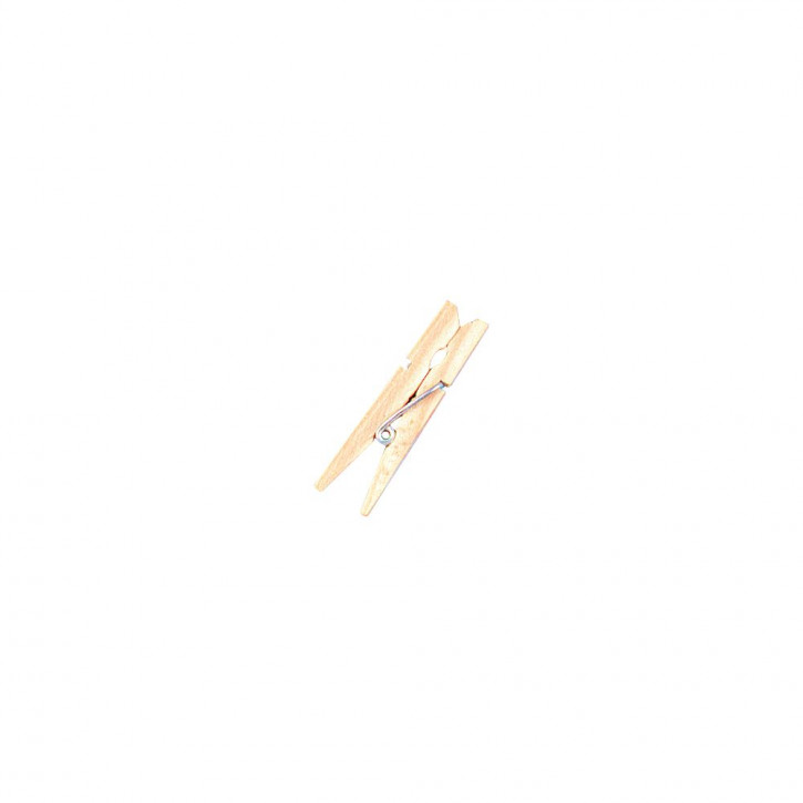 Holz-Wäscheklammern, 4,5 cm, natur SB-Btl. 24 Stück