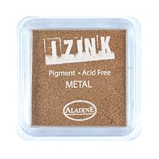 IZINK Pigment Stempelkissen, metal-copper
