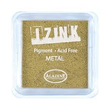 IZINK Pigment Stempelkissen, metal-gold