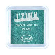 IZINK Pigment Stempelkissen, metal-green