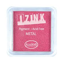 IZINK Pigment Stempelkissen, metal-pink