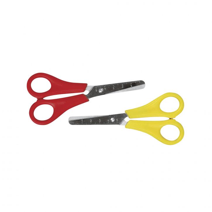 Kinder-Bastelschere für Linkshänder 13,5 cm, SB-Karte 1 Stück