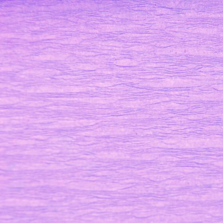 Krepppapier, 50cm x 250cm, pastelllila