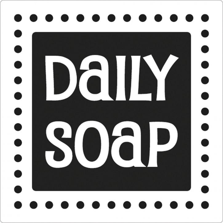 Label Daily Soap, 50x50mm, SB-Btl 1Stück