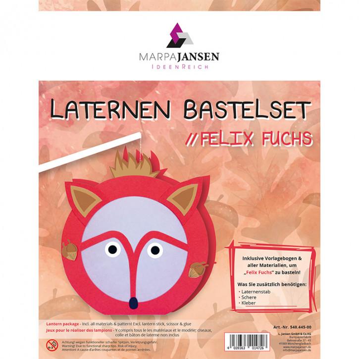 Laternen Bastelset, Felix Fuchs 22 cm Ø, 1 Set