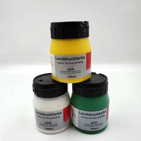 Linoldruckfarbe 250 ml