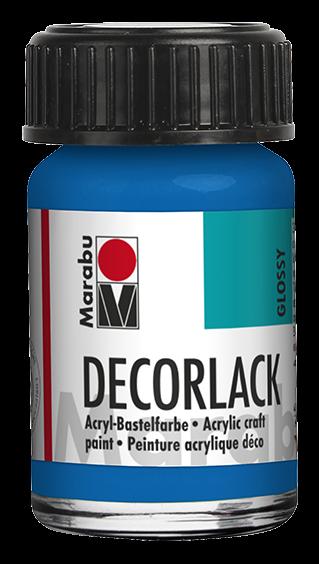 Marabu Decorlack 15 ml Azurblau