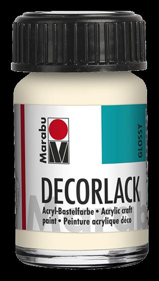 Marabu Decorlack 15 ml Elfenbein