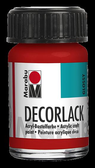 Marabu Decorlack 15 ml Geranie