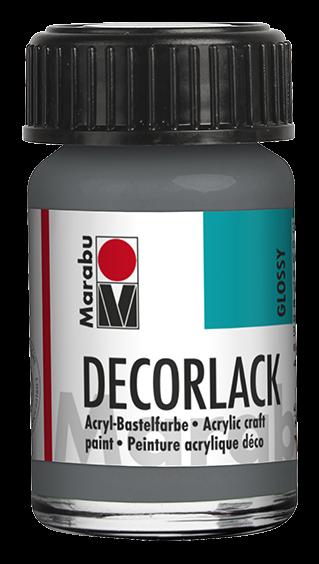 Marabu Decorlack 15 ml Grau