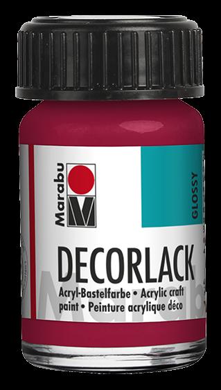 Marabu Decorlack 15 ml Karminrot