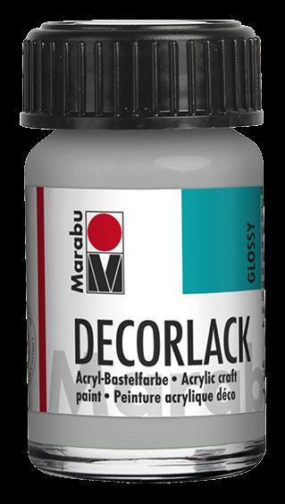 Marabu Decorlack 15 ml Metallic Silber