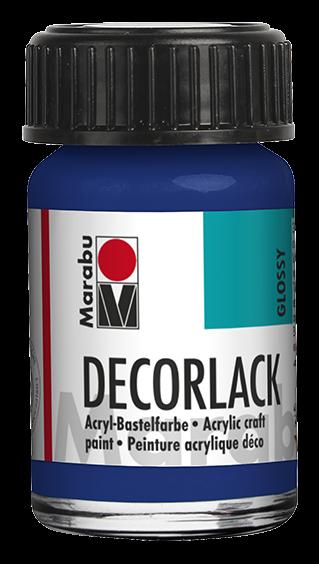 Marabu Decorlack 15 ml Mittelblau